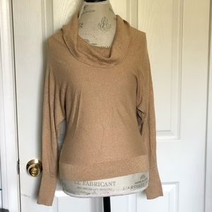 INC Gold sweater Size XS